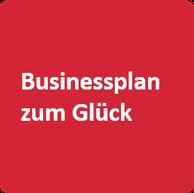 """roter Würfel mit Aufschrift """"Businessplan-zum-Glück"""""""